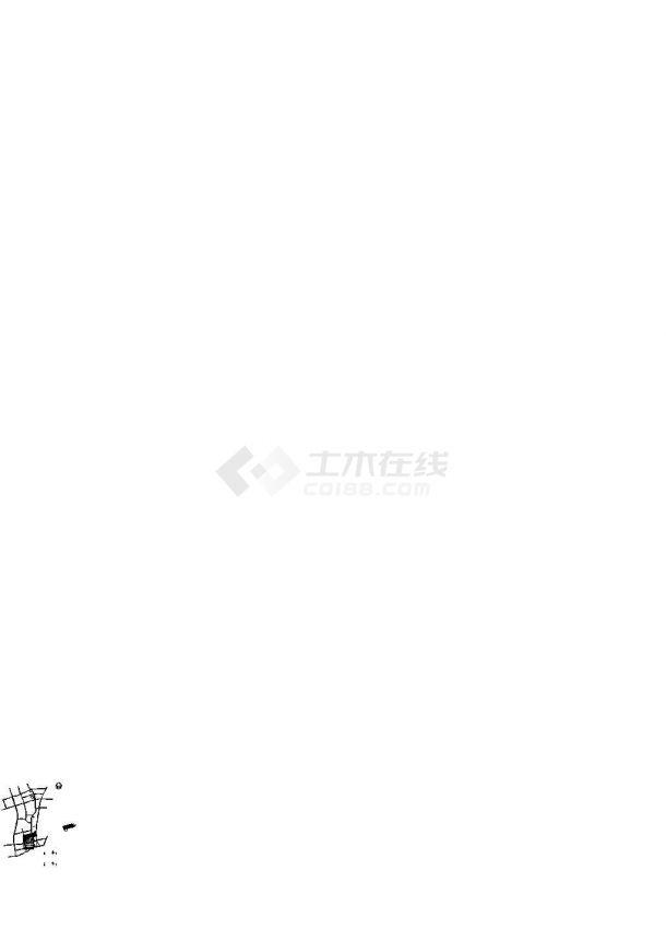 [浙江]港口河道整治工程施工图.(标注详细)-图一