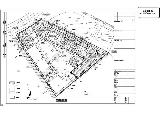 [南昌]多层综合办公楼空调通风设计施工图(空调,通风,其它)-图一