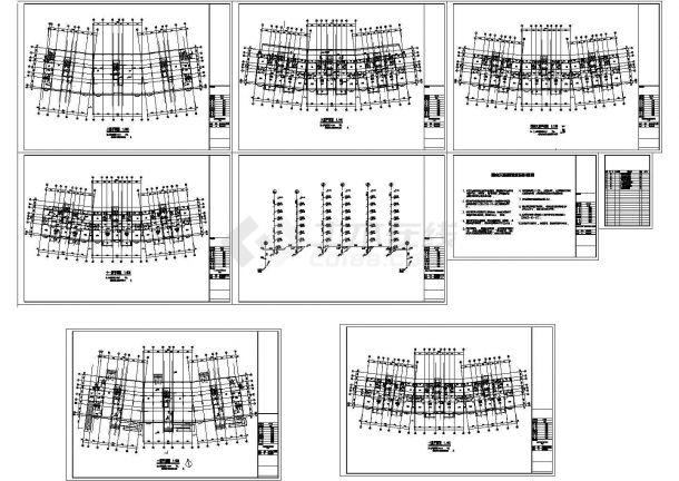 某小高层住宅室内天然气管道设计cad施工图-图一