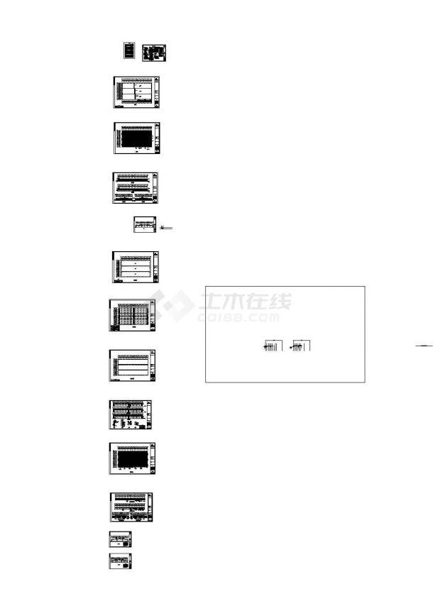 某跨度26米单层轻型门式钢屋架结构厂房建筑施工图纸,含钢结构设计说明-图一