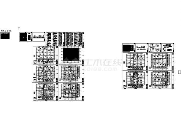 某地上二层钢框架结构冷库(15875㎡)强弱电设计cad全套电气施工图纸(含设计说明)-图一
