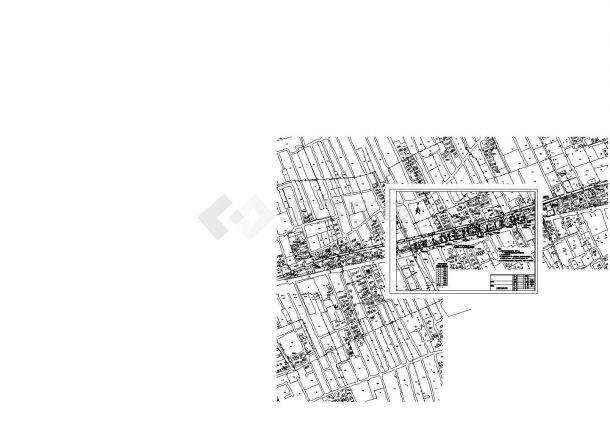 [上海]河道护岸维 修改造工程cad施工图-图二