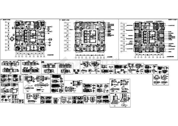 KTV经典设计施工图.-图一