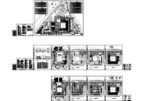 某健身馆给排水CAD设计施工图-图一