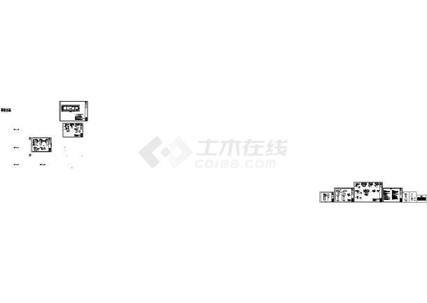 拉森桩支护基坑水池设计cad施工图(甲级院设计)-图一