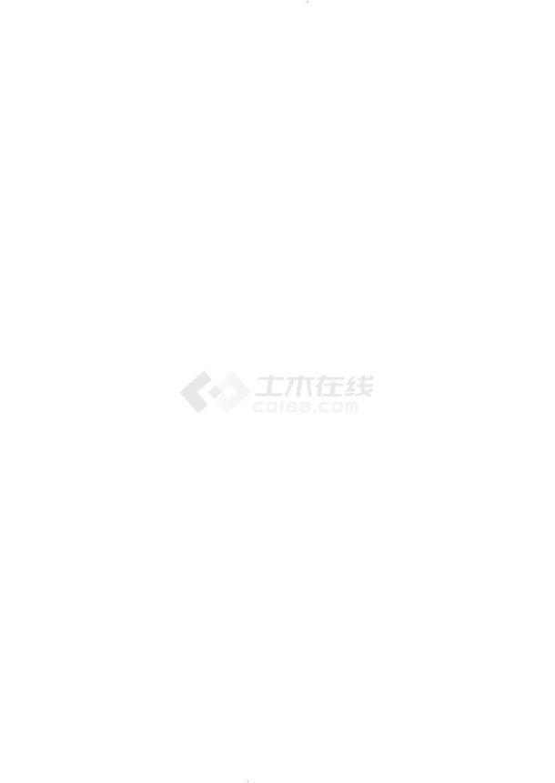 防火通道工程排水工程设计施工图-图二
