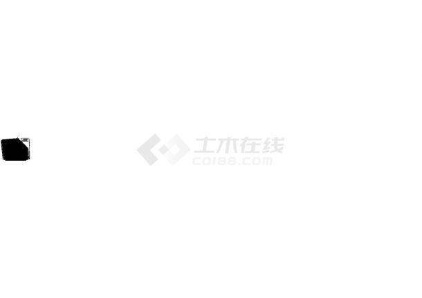 [广东]某商业广场给排水施工CAD图纸设计,含设计说明-图一