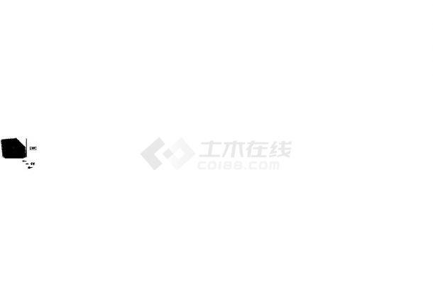 [广东]某商业广场给排水施工CAD图纸设计,含设计说明-图二
