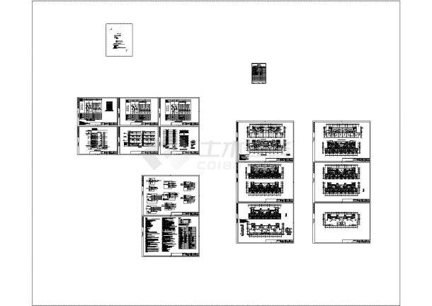 某度假区十一层宾馆大楼强弱电设计cad全套电气施工图(含设计说明,含防雷、负荷、电压降计算书)-图一