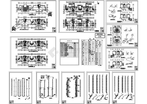 某29层高层住宅给排水设计CAD图-图一