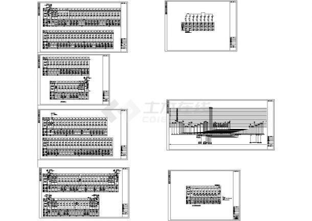 某高层商业大厦强弱电设计cad全套电气施工图纸(含设计说明,含供配电、安防对讲、火灾报警系统)-图一