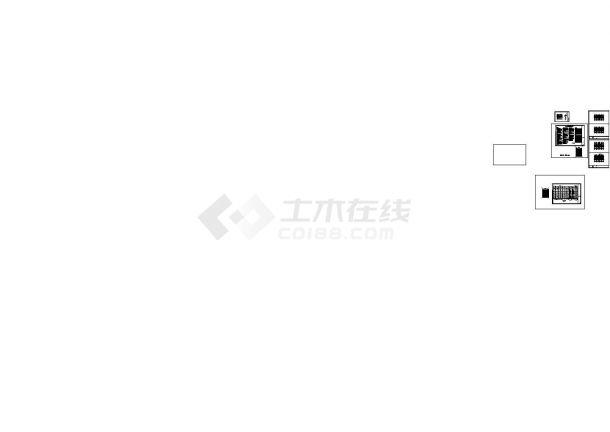 [天津]某地高层住宅及地下车库给排水消防施工图(含给 排 水 设 计 施 工 说 明)-图一