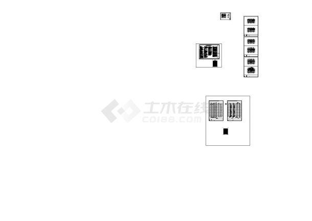 [天津]某地高层住宅及地下车库给排水消防施工图(含给 排 水 设 计 施 工 说 明)-图二