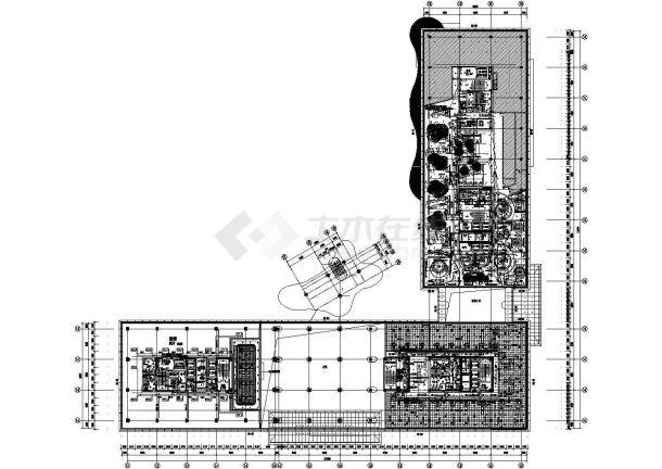 江苏某住宅楼空调及通风排烟系统设计施工CAD图(多联机空调系统)-图二