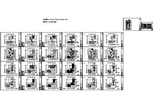 三层董事长别墅西式风格别墅装修设计图(长21.35米 宽16.7米 效果图13张)-图二