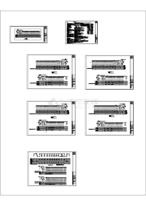 星级酒店供配电系统设计CAD图纸(含电气设计说明)-图一