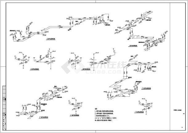 [成都]某高级住宅小区给排水施工图(高层住宅)-图二