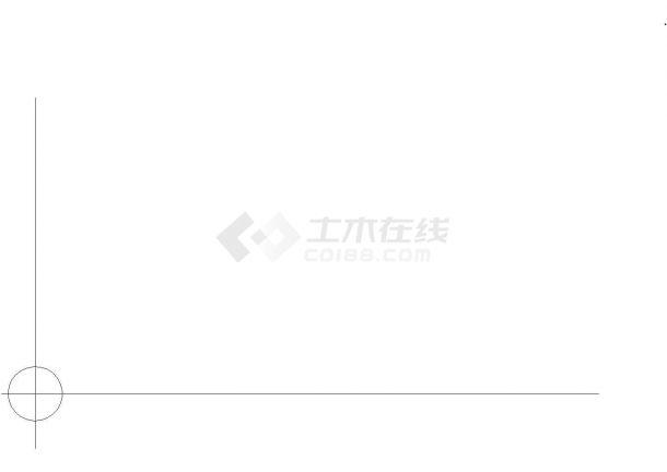 北京某公园景观设计cad图(含总平面图)-图一