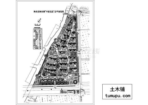 中新花园规划设计(绘图细致)-图二