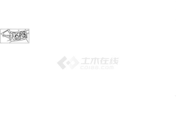 永嘉县鹅脯公园详细景观规划设计cad图(含总平面图)-图二