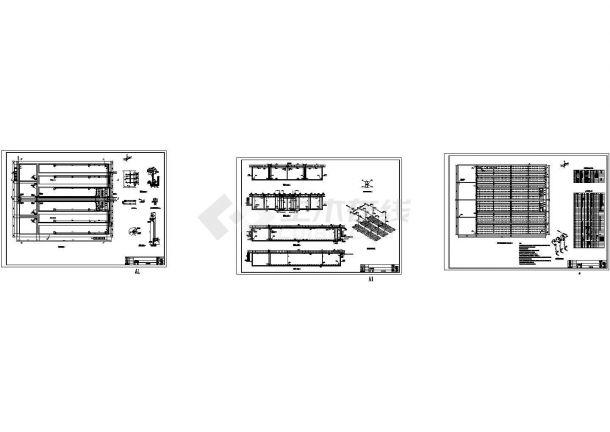 污水综合处理厂给排水施工图-图一