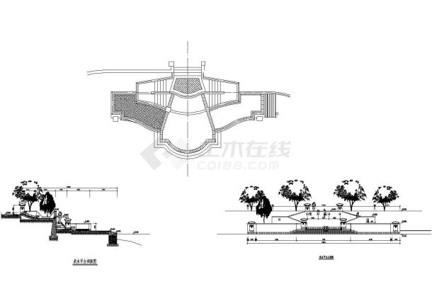 亲水平台结构详图.共3张-图一