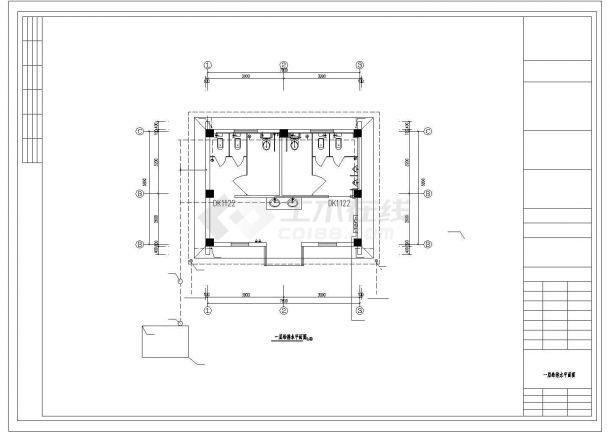 公厕0508修改(含建筑、结构、电气、给排水)-图一