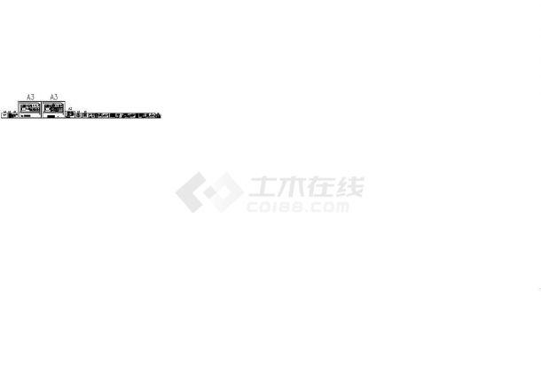 [河北]食品厂污水处理改造工程施工图-图一