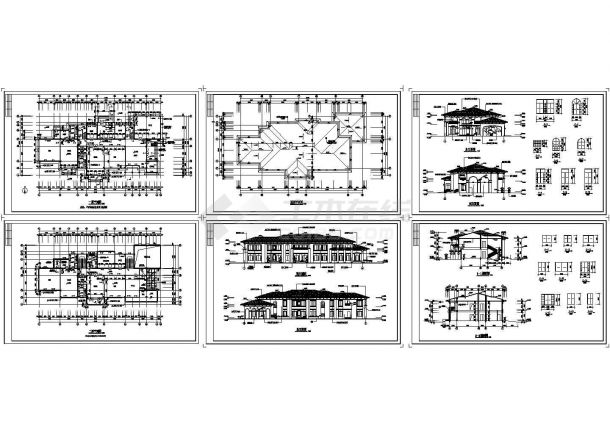 2层精品幼儿园建筑施工图(门窗大样)-图一