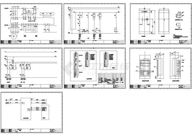 某工程水泵变频控制电气原理图-图一