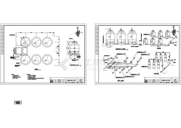 [山东]某污水处理厂整套工程设计施工图纸-图二