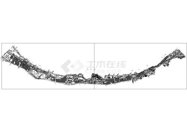 [重庆]大坝堤防加固工程CAD施工图-图一