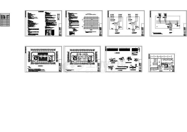[广西]超高层住宅楼太阳能热水系统给排水施工图纸(光伏系统)-图一
