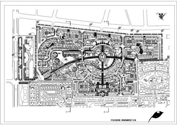 小区规划设计方案图设计-图一