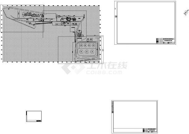 某公司园林工程施工图-图二