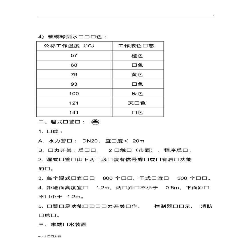 消防工程造价相关知识资料文档-图二