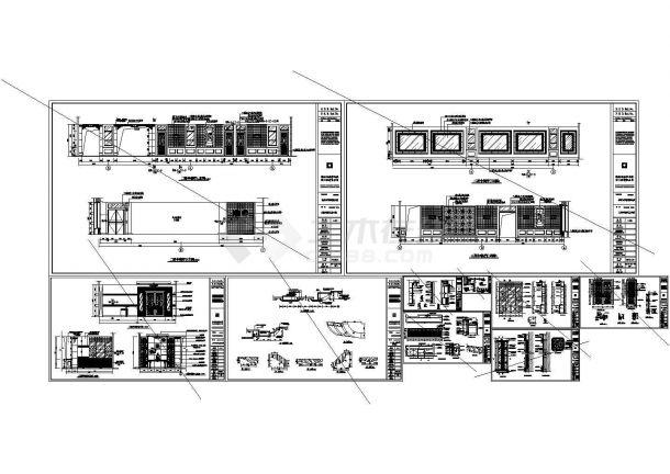 [中餐厅]中餐厅装修图纸(CAD)-图二