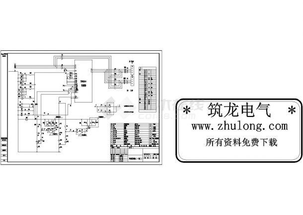 变频器控制原理图纸-图二