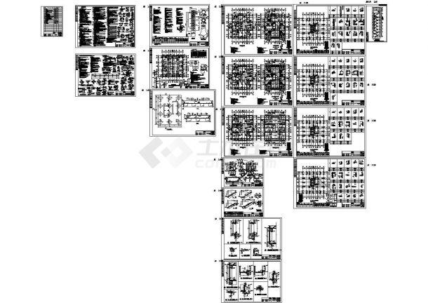 17层剪力墙住宅结构施工图(钻孔灌注桩)-图一