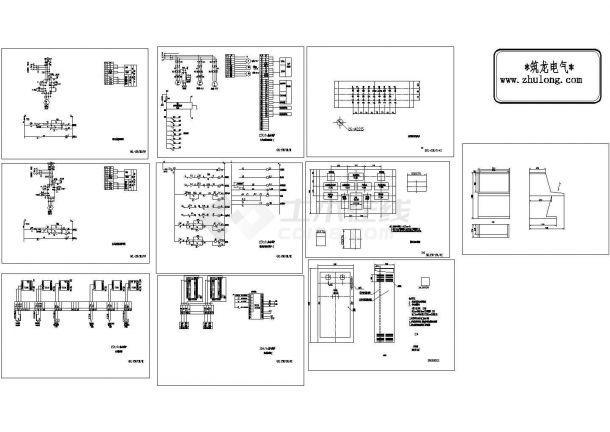 热水锅炉全套电气控制原理图-图二