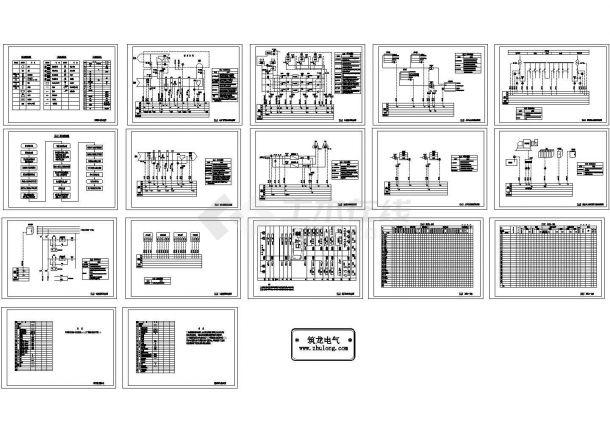 BAS系统全套控制原理图-图二