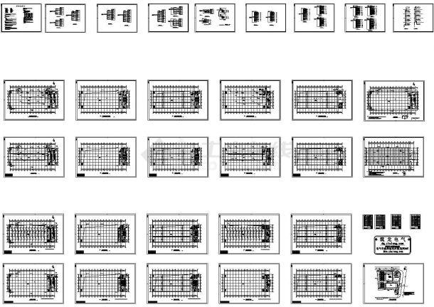 某五层厂房电气施工图(CAD,32张图纸)-图一
