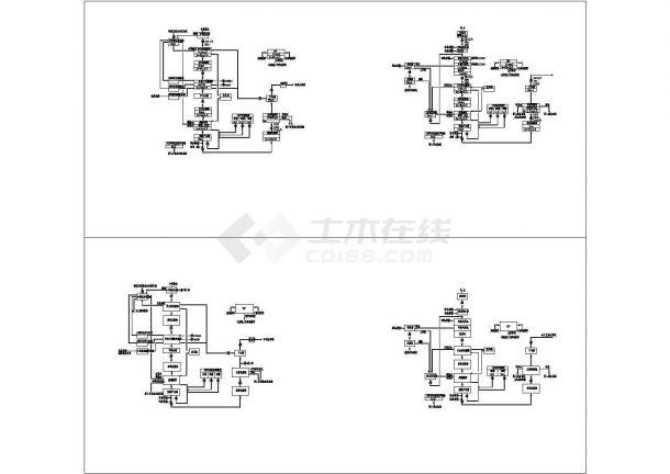 电镀废水中水回用工艺流程图(流程表示详细)-图一