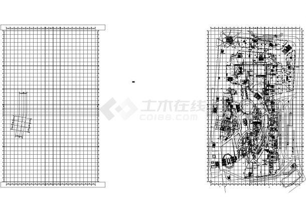 某高层商业综合楼空调通风及防排烟系统设计cad全套施工图(大院作品 含制冷机房设计,含设计说明)-图一