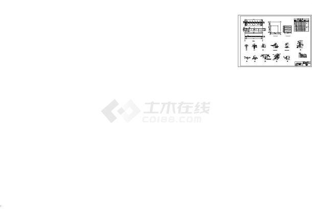 印刷单层建筑钢结构厂房毕业设计图形(建筑)cad施工图设计-图二