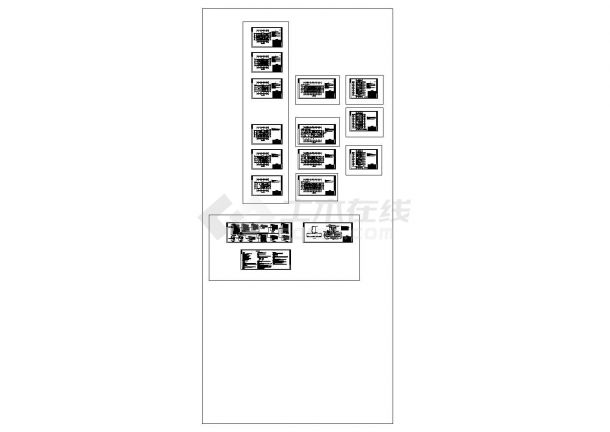 某地3层3322㎡县医院电气设计全套施工图(含说明)-图一