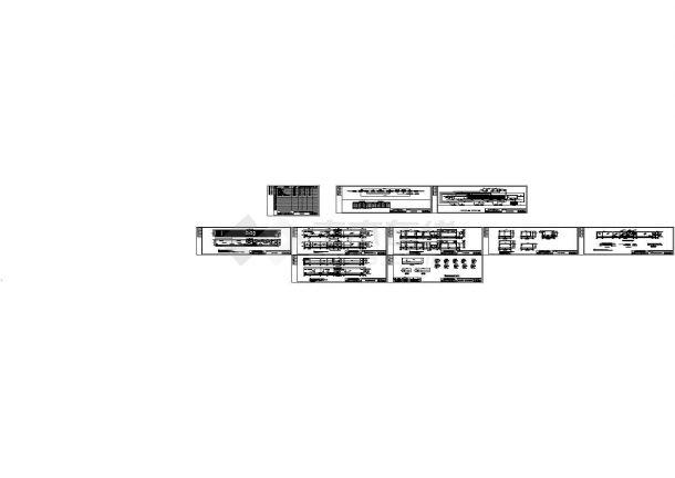 [广东]某农村生活污水处理工程CAD施工图纸-图一