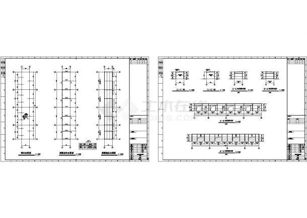 某钢结构垃圾房设计cad全套结构施工图(甲级院设计)-图一