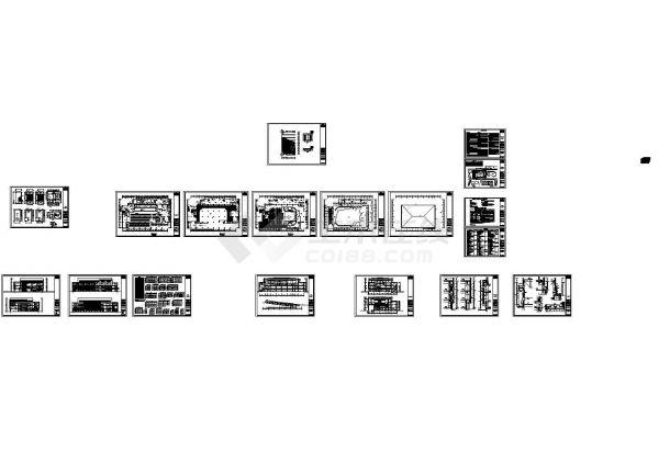 [芜湖]某学院三层食堂综合楼建筑施工图-图一