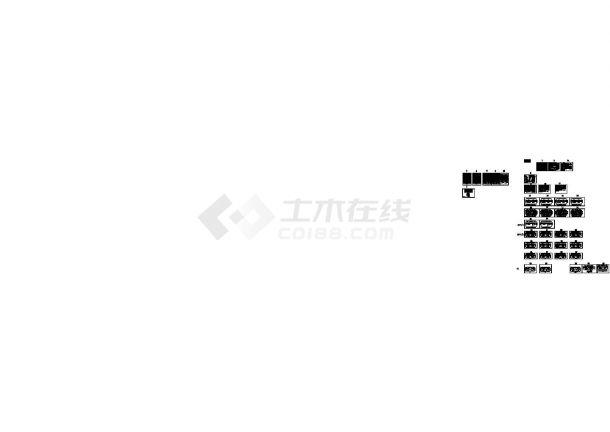 [陕西]高层住宅带人防电气施工图(甲级院最新设计)-图一